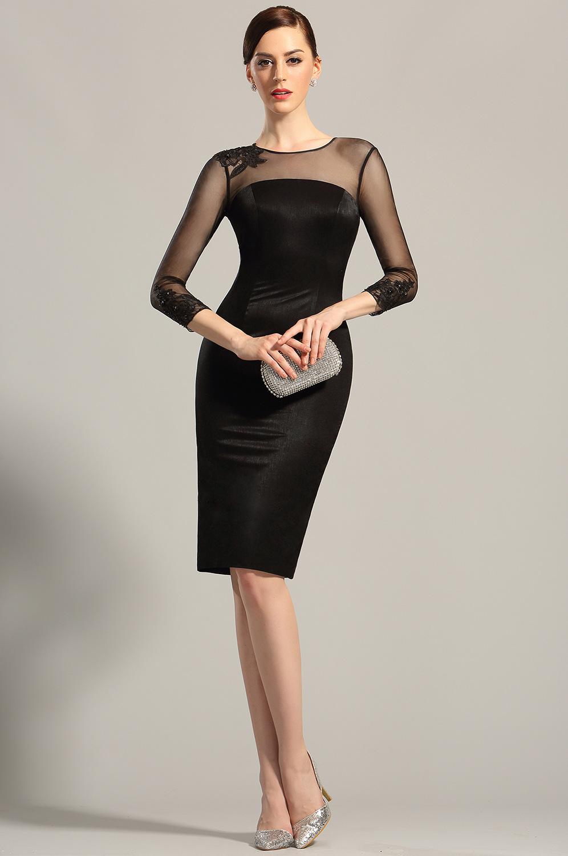 6c89049ef6244 Robe noire fete - Vetement fitness et mode