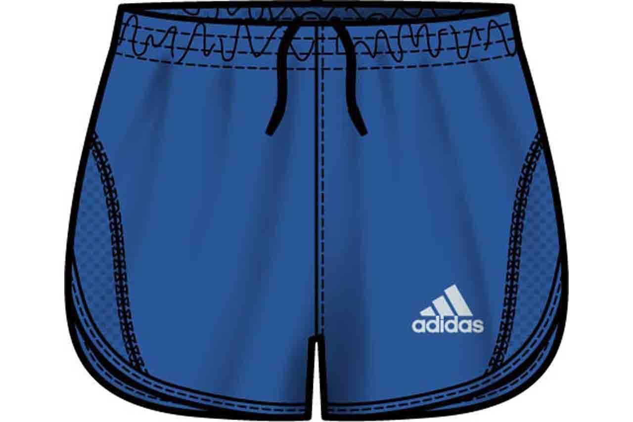 Short running adidas hombre