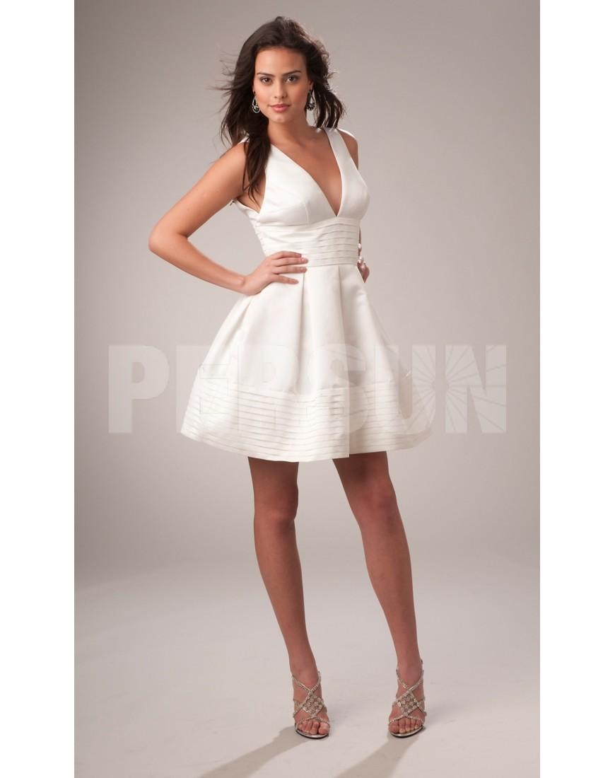 Robe blanche soirée