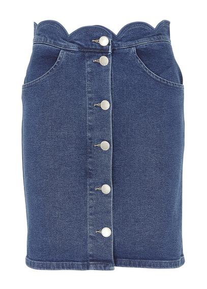 Short jean ample femme