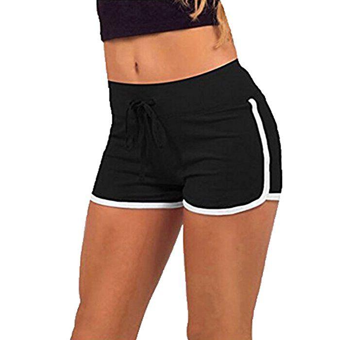 Short fitness femme blanc