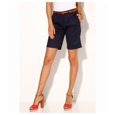 Short long femme coton