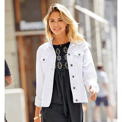 Habillée Vetement Mode Veste Femme Blanche Fitness Et OFAqqTw7pn