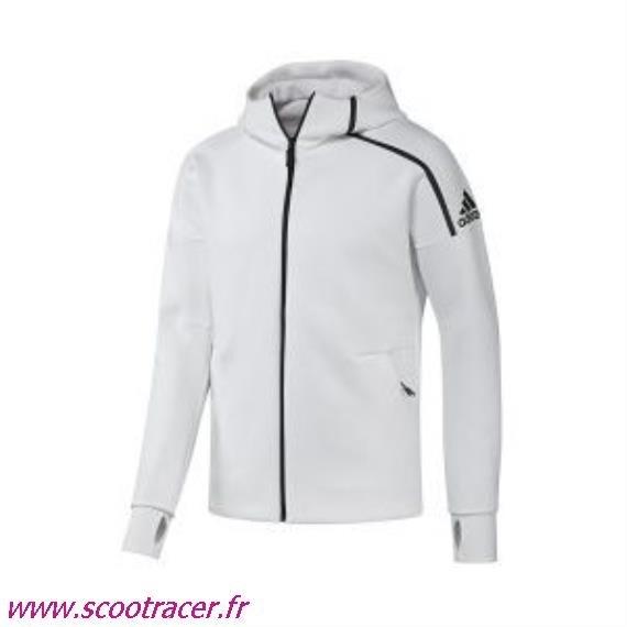 05bd64f7641e9 Veste adidas femme blanche et or - Vetement fitness et mode