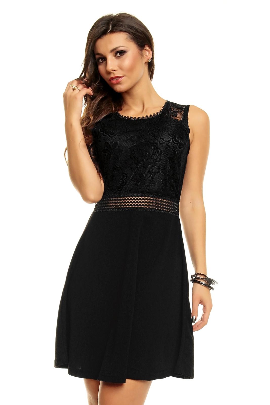 Robe habillee noire