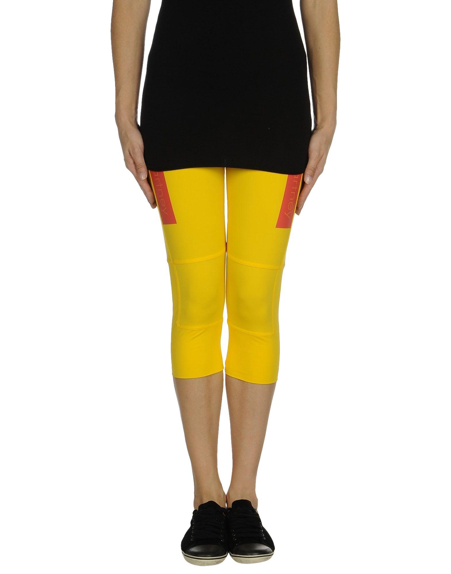 Legging jaune femme