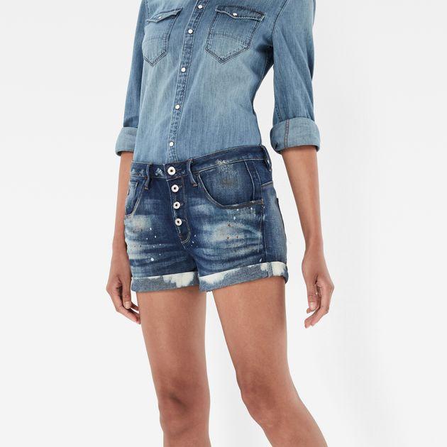 Short en jean g-star femme - Vetement fitness et mode 9cccc99a6de8
