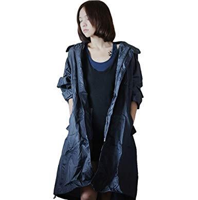 Veste de pluie avec capuche femme