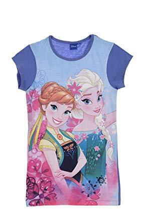 Chemise de nuit reine des neiges 6 ans