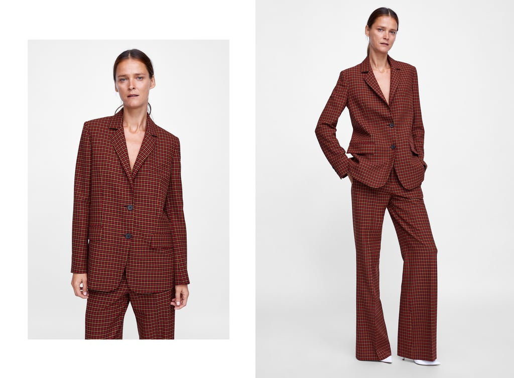 Veste Zara Femme Et Mode Vetement Ecossaise Fitness TlwiPZkOXu