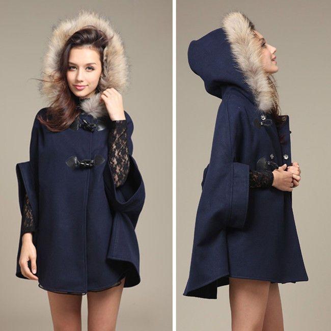 Veste hiver femme a capuche