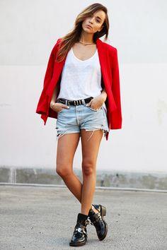 Short rouge femme classe - Vetement fitness et mode 574ee4ecf62