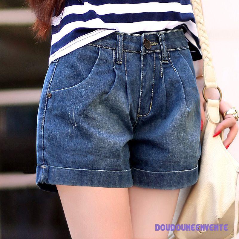 Short femme jean pas cher - Vetement fitness et mode 432107c9187