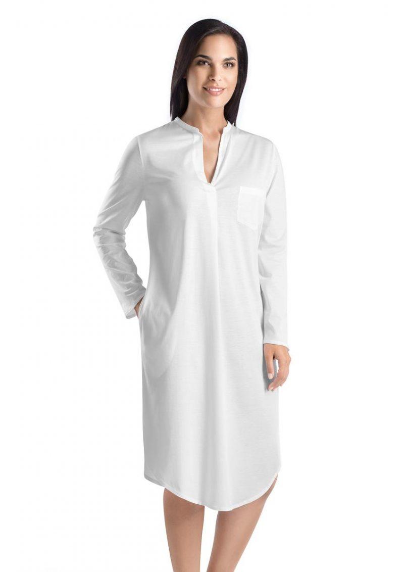 Chemise de nuit coton longue
