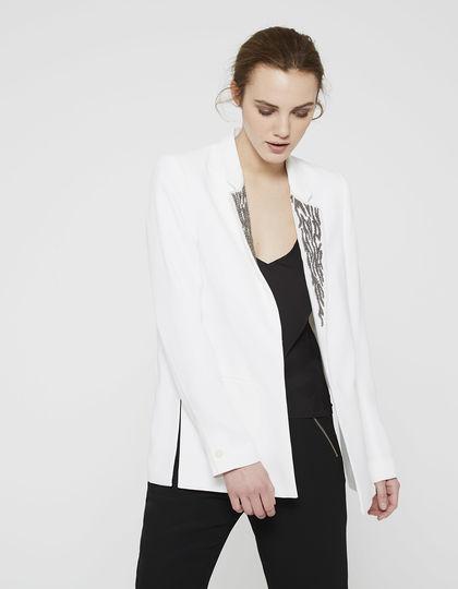 Veste Mode Et Femme Ikks Fitness Blanche Vetement rdshtQCx