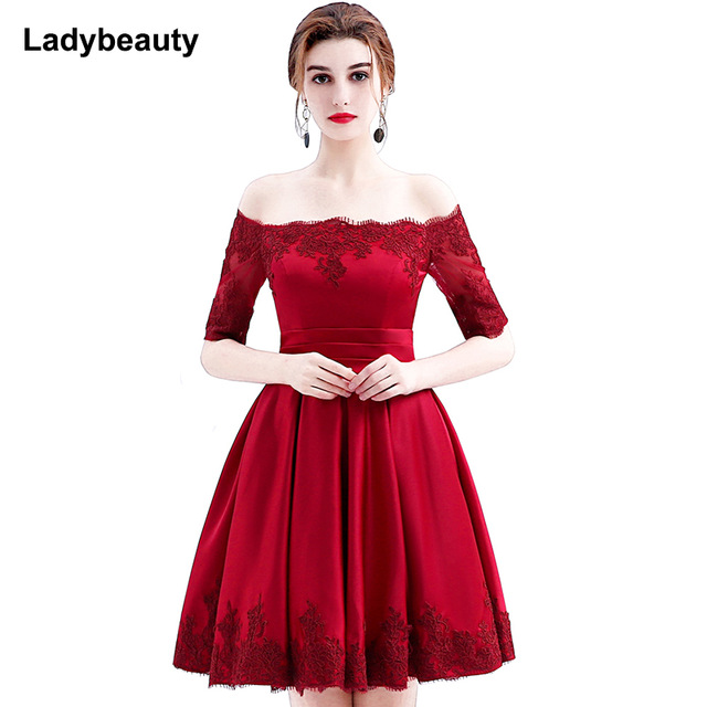 Robe rouge cocktail courte - Vetement fitness et mode 378ee2e2aad1