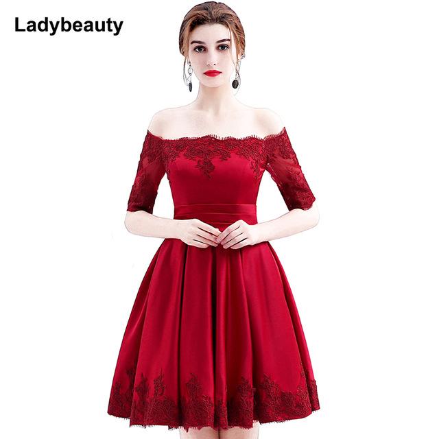 3ef326e0ae4 Robe rouge cocktail courte - Vetement fitness et mode