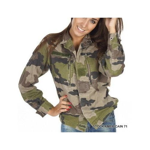 Femme Et Fitness Kaki Mode Pas Cher Vetement Veste Militaire 0wE0U