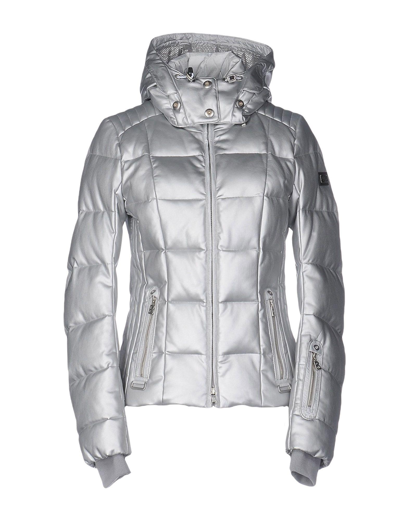 Veste ski femme argentée