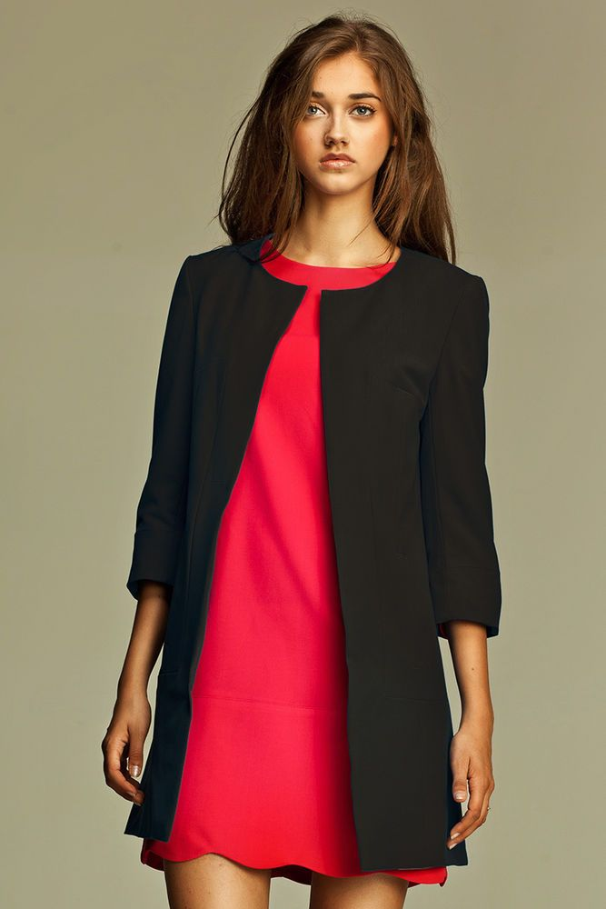 557108a9755f Veste femme noire habillée - Vetement fitness et mode
