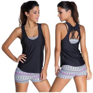 77ef55ba928a Ensemble short de bain pour femme - Vetement fitness et mode