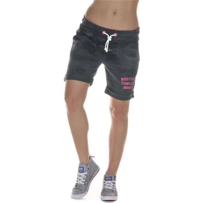 Short gris classe femme - Vetement fitness et mode 43ed25dafff