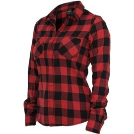feeb14a3ba52c Chemise femme carreaux rouge et noir - Vetement fitness et mode
