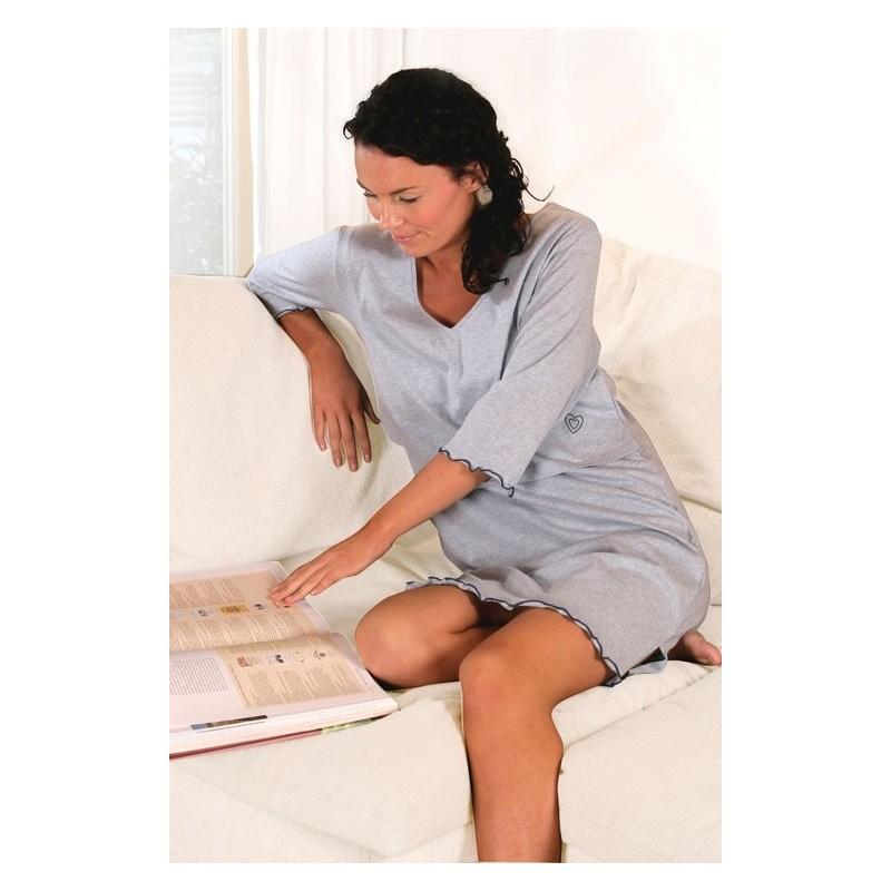 Chemise de nuit allaitement