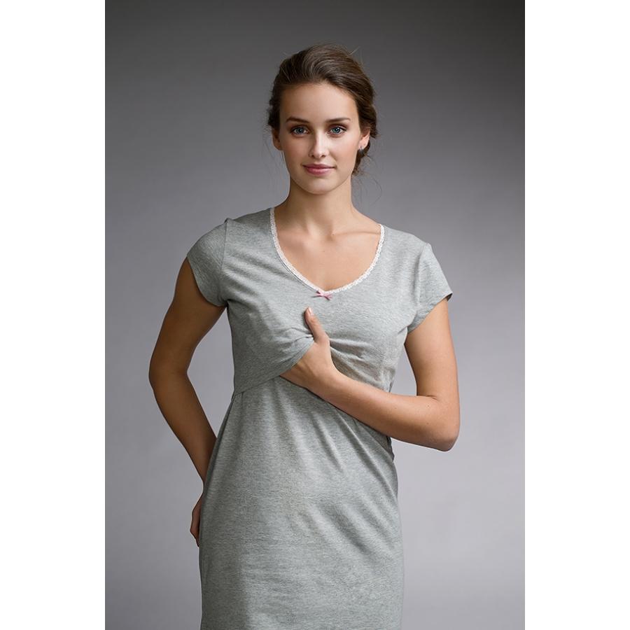 Chemise De Nuit Liquette Femme Coton Vetement Fitness Et Mode
