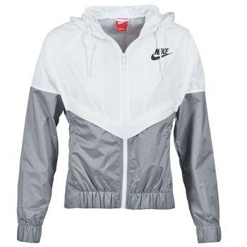 Vetement Noir Et Blanche Veste Windrunner Mode Nike Fitness Femme AXq1YI