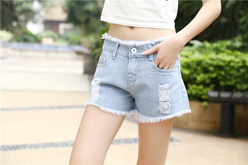 Short jeans femme 2016