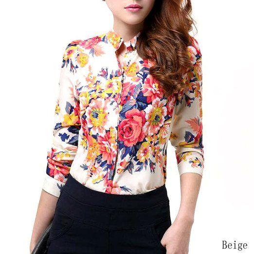 b789c5a1845ea Chemise femme a fleur. Chemise femme a fleur. Je veux trouver une belle  chemise femme et agréable à porter pas cher ICI ...