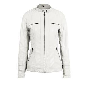 Fitness Blanc Femme Veste Cuir Vetement Mode Et w4BxqITUx 8f2b40ecc35