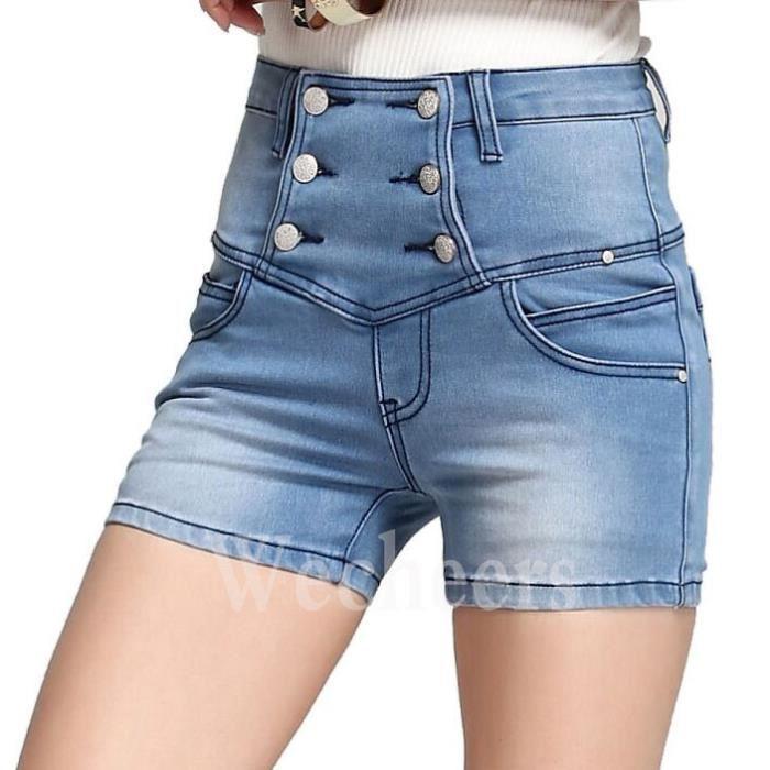 Short en jean vintage femme - Vetement fitness et mode 630cf1830be0