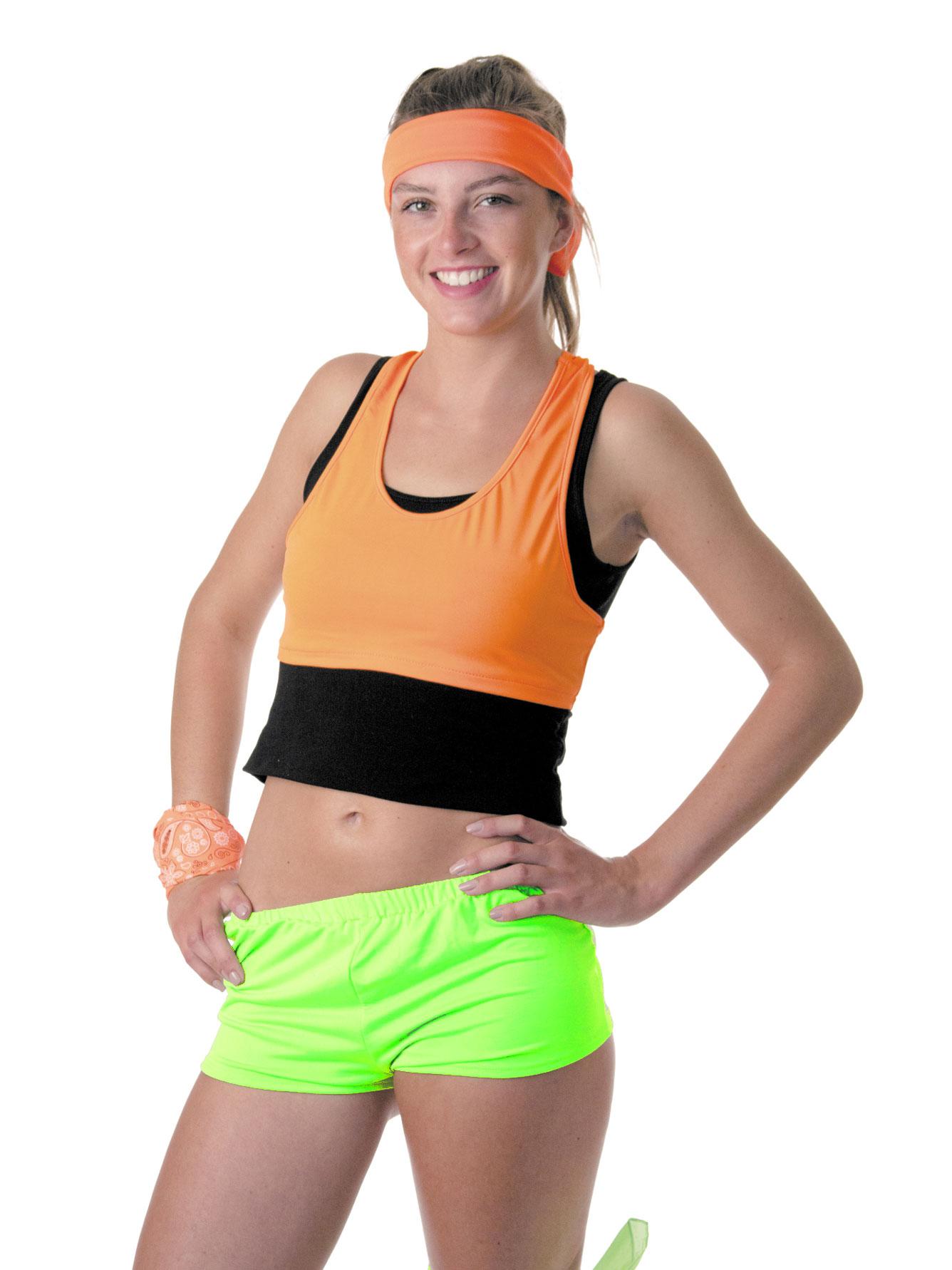 Mini short fluo femme - Vetement fitness et mode b206bb83b0f
