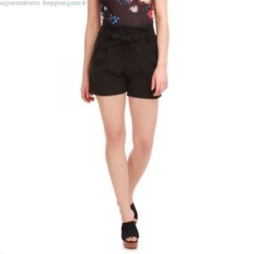 Short femme taille haute ceinture - Vetement fitness et mode 97d9db48706