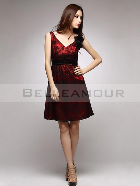 Vetement Rouge Fitness Soirée Mode Et Noir Robe zpMVqUS