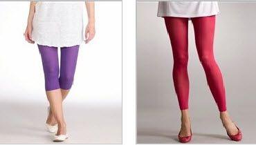 Legging blanc femme grande taille