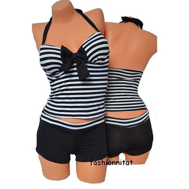 35b23011f17a4 Maillot de bain débardeur short femme - Vetement fitness et mode