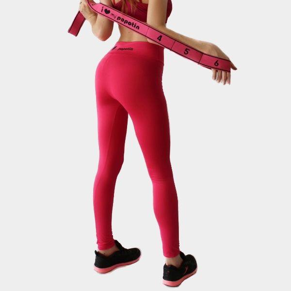 Legging sport femme rose