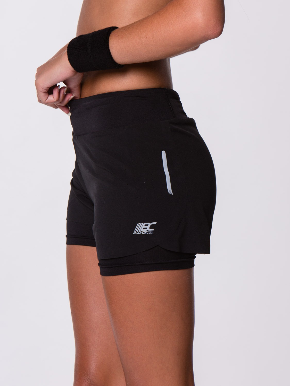 Short de sport femme noir - Vetement fitness et mode 672ee5b8ad3