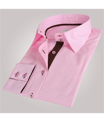 Chemise femme rose