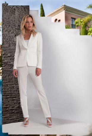 Tailleur veste pantalon femme mariage - Vetement fitness et mode e947414abc1