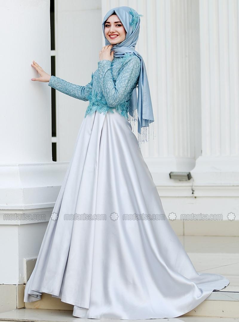 Robe de soirée hijab