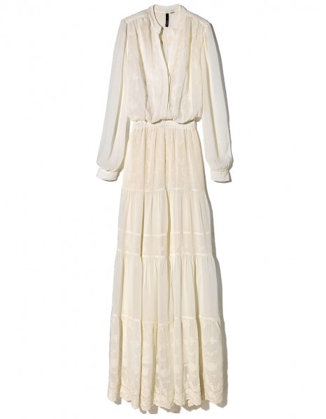 641e856b2e9c Robe dentelle blanche mango - Vetement fitness et mode