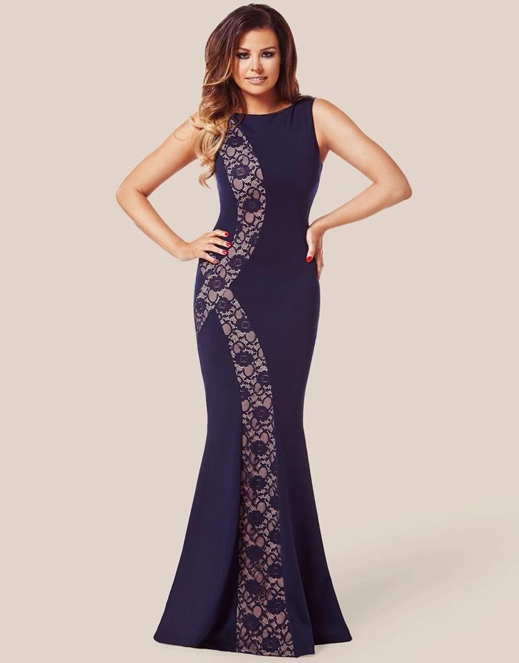 Modele de robe en dentelle longue