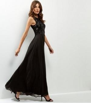 Robe longue de soiree new look