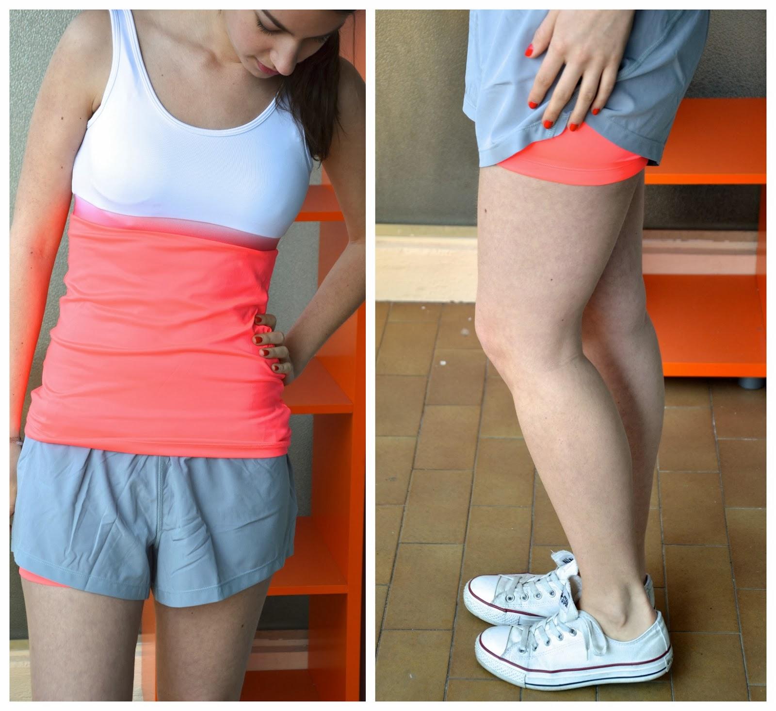3f1f1341770f0 Short avec cycliste intégré femme - Vetement fitness et mode