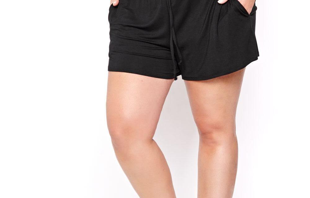 Short court femme ronde - Vetement fitness et mode 264e211ccf1
