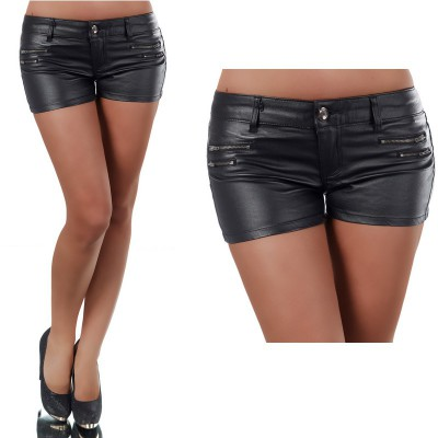 Short court en jean pour femme